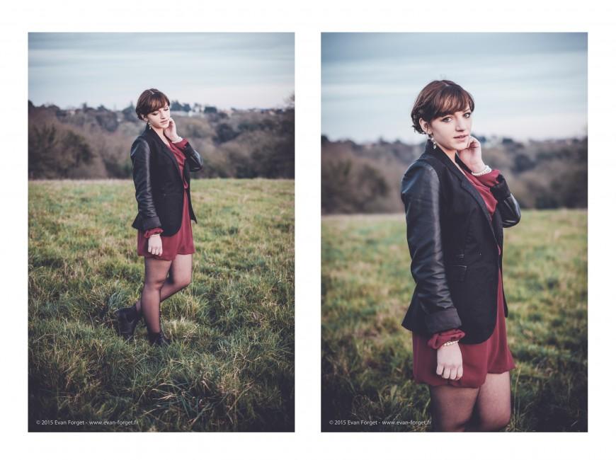 Les deux photos : 35mm -  f/1.4 - 200 ISO - 1/500