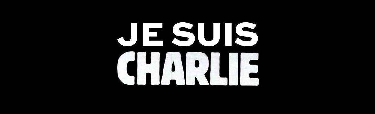 "Slogan ""Je suis Charlie""."